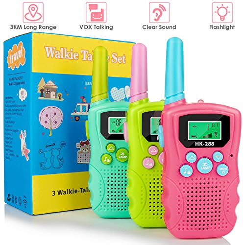 Walkie Talkies for Kids 3 Pack