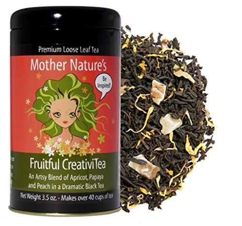 - Mother Nature's Fruitful CreativiTea (Apricot, Papaya and Peach Black Tea)