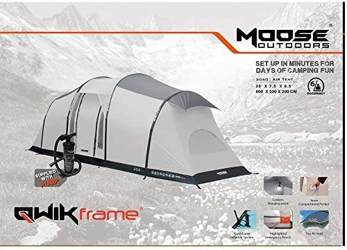 Moose Outdoors Inflatable Air Tent with