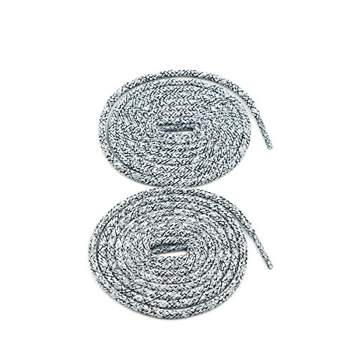 COOL LACE Round Athletic Shoelaces Shoe Laces for Sneakers (47.2