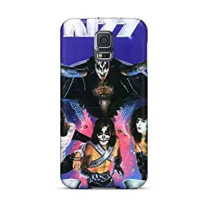 Protector Cell-phone Hard Cover For Samsung Galaxy S5 (ywy14245vDtJ) Unique Design Stylish Kiss Band Skin