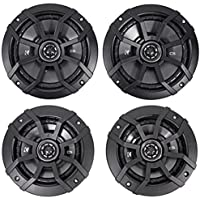 (2) KICKER 43CSC654 CSC65 6.5 600w Car Speakers+(2) 43CSC54 5.25 900w Speakers