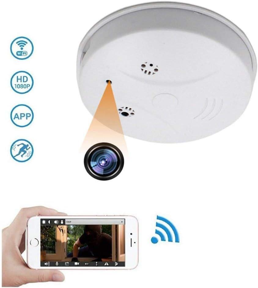 Balscw J Smoke Detector 1080p Hd Mini Spy Hidden Amazon Co Uk