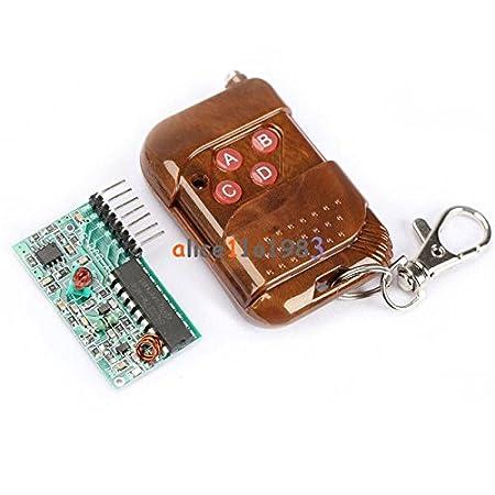 IC2262//2272 4 channel wireless remote control kits 4 key wireless remote 433MHZ