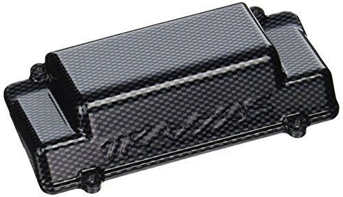 (Traxxas 5515G Exo-Carbon Rear Bumper / Battery Box Cover, Jato)