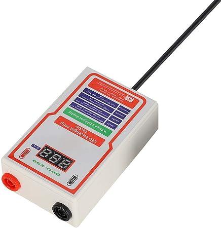 Probador de luz LED Probador de lámpara y luz de fondo LED Brillo de alta luminosidad LED Probador de cuentas Herramienta de reparación de TV(UE): Amazon.es: Hogar