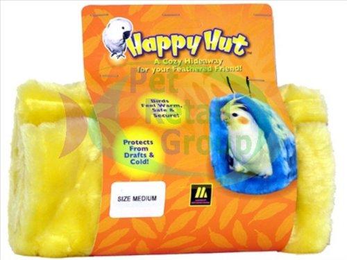 Multipet International 843712 Happy Hut Bird Med Asst