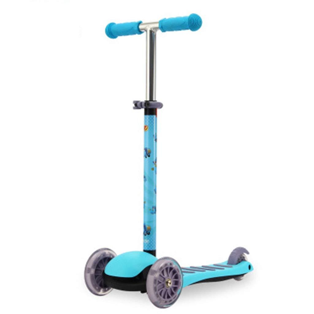 barato azul SBKD Scooter para para para Niños Bebé Polea Coche 2-3-4-5-6 Años De Edad Niño Carro Deslizante De Tres Ruedas Coche Rueda De Ardilla (Color   rojo)  hermoso