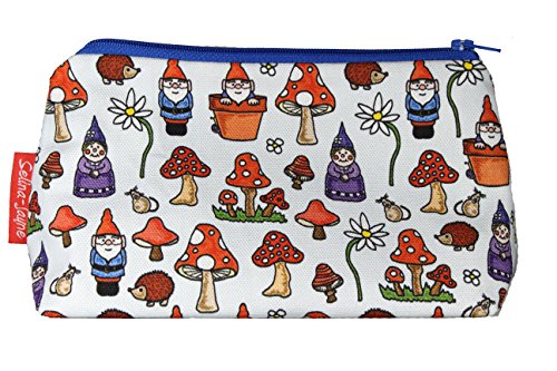 [Selina-Jayne Gnomes Limited Edition Designer Toiletry Bag] (Gnome Hats)