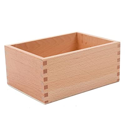 Montessori Math Mathematics Teaching Aids Materials, Spindles, Early Education, Preschool Education, Wooden Toys (Box for Loose Spindles (Box Only)): Toys & Games