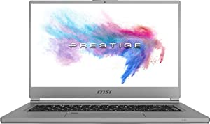 "Newest MSI P65 Creator 15.6"" UHD Gaming Laptop, Intel 6-Core i7-9750H Upto 4.5GHz, 16GB RAM, 512GB PCIe SSD, NVIDIA GeForce RTX 2060 6GB GDDR6, RGB Backlit Keyboard, Fingerprint Reader, Windows 10"