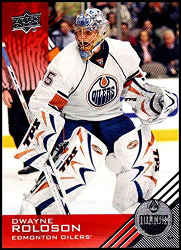 2013-14 Upper Deck Edmonton Oilers Collection #68 Dwayne Roloson NM-MT Edmonton Oilers Official NHL Hockey Trading Card -
