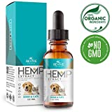 Organic Hemp Oil Extract for Dogs & Cats - 500MG - Made with Organic FS Colorado Hemp. Non-GMO, Vegan, Gluten Free.