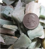 Green Aventurine SM Aquarium Safe All Natural Stone, Metaphyscial Healing, Chakra Stones