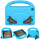 PC Hardware : ThreeJ F i r e H D 8 case, Light Weight Shock Proof Portable Handle Soft Foam Case [Kickstand Kids Friendly] for F i r e H D 8 Tablet(7th Gen / 6th Gen, 2017/2016 Realease) (Blue)
