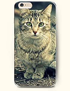 Case Cover For SamSung Galaxy S6 Cat with Green Eyes