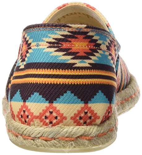 Hamptons Miss Basse Mexico Multicolore Donna muticolor Espadrillas New BZ84Zqxwad