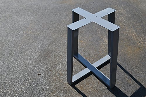 Metal Table base, Tapered Pedestal Style - Any Size and Color! Tapered Pedestal