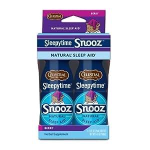 Celestial Seasonings Snooze Sleep Shot Sleepytime Tea, Berry, 2.5 Ounce (Pack of 2)