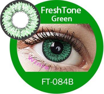 Farbige Kontaktlinsen Jahreslinsen grün hellgrün