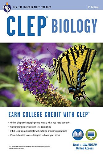 CLEP® Biology Book + Online (CLEP Test Preparation)