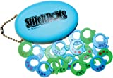 PolarKnit Inc. StitchDots Stitch Markers-Blue & Green