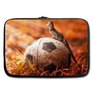 """Cool de balón de fútbol Art 17 """"(doble lados) ordenador portátil/"""