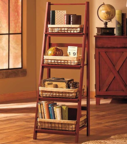 Review Ladder Shelf (Walnut) By GetSet2Save by GetSet2Save