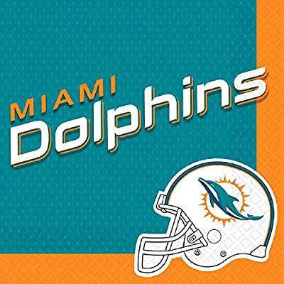 NFL Football Team Logo Plates And Napkins Serves 16