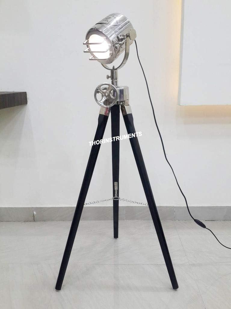 Designer Marine Tripod Floor Lamp Studio Spotlight Tripod Floor Lamps