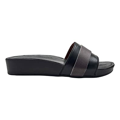 40ada6096b0d7a OLUKAI Women s Ola Huna Black Dark Shadow 5 B US B ...