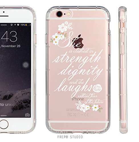 iPhone Clothed Strength Dignity Proverbs product image