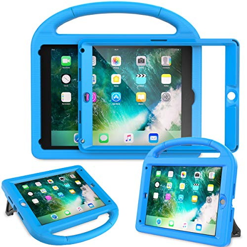 AVAWO Kids Case Built-in Screen Protector for New iPad 9.7