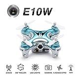 Photo : FPV Mini Quadcopter With Camera , EACHINE E10W Mini Wifi FPV Drone Live Video Selfie Pocket Drone RTF