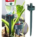 Kicode Automático El plastico Jardín Cono de riego de Spike Planta de la Flor Botella bebederos