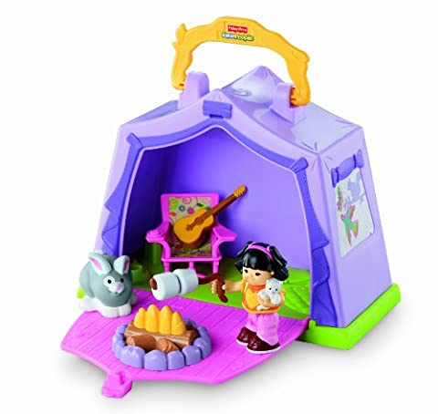 Fisher-Price Little People Play 'n Go Campsite (Little People Sonya Lee)