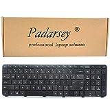 Padarsey Replacement Keyboard without Frame for HP Envy dv7-7000 dv7-7100 dv7-7200 dv7-7300 dv7-7323cl dv7-7270ca series Black US Layout (Not fit for dv7-1000 dv7-4000 dv7-6000 series laptop!!)
