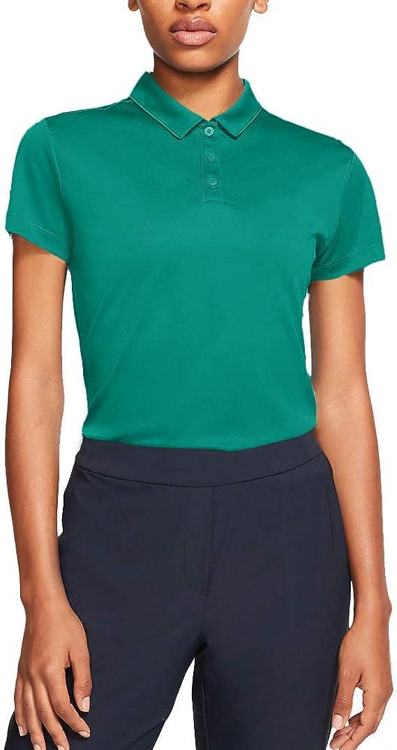 Nike W Nk Dry SS Polo de Manga Corta de Golf, Mujer: Amazon.es ...