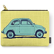 Society6 Fiat 500 Carry-All Pouch