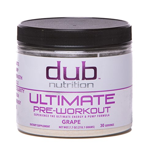 Ultimate Pre Workout |By dub Nutrition Supplements| (Grape) Top Rated Energy Pump Formula, Dye Free, 0 Carbs, Muscle Builder, Nitric Oxide Boost, Beta Alanine, Glucuronolactone, Creatine, - Off 20 Jack Code Wills