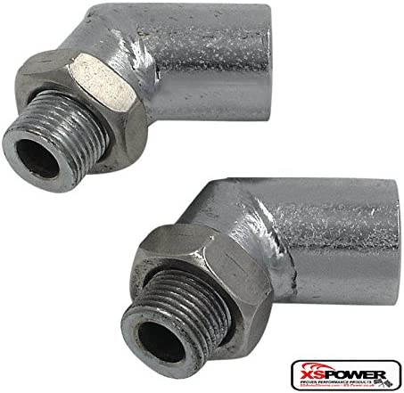 PACK OF 2 90 Degree Oxygen Sensor Spacer M18x1.5 O2 Spacer