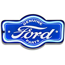"""Ford LED Neon 17"""" Marquee Shaped Sign"""