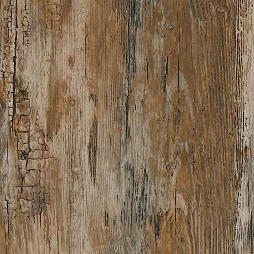 Hardwood Veneer Furniture Collection - d-c-fix 346-0478 Decorative Self-Adhesive Film, Rustic Wood, 17