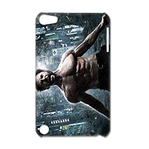 Custom superhero film The Wolverine Hugh Jackman IPod Touch 5 3D Hard Plastic Shell Case Cover(HD image)