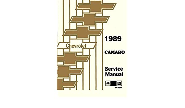 89 camaro schematic 1989 chevy camaro shop manual 89 iroc z rs chevrolet repair  1989 chevy camaro shop manual 89 iroc z