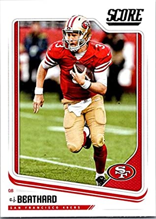 15ec3407d Amazon.com  2018 Score  280 C.J. Beathard San Francisco 49ers ...