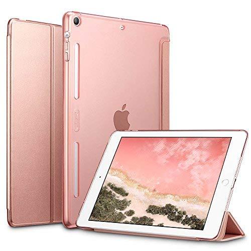 esr Case for iPad Mini 1/2/3, [Corner/Bumper Protection] Soft TPU Bumper Edge Smart Case with Auto Sleep/Wake Function for Apple iPad Mini 1/2/3 (Rose Gold)