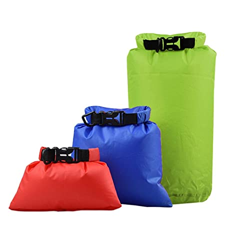 LIOOBO 3pcs Bolsa ultra seca Bolsa impermeable para ropa ...