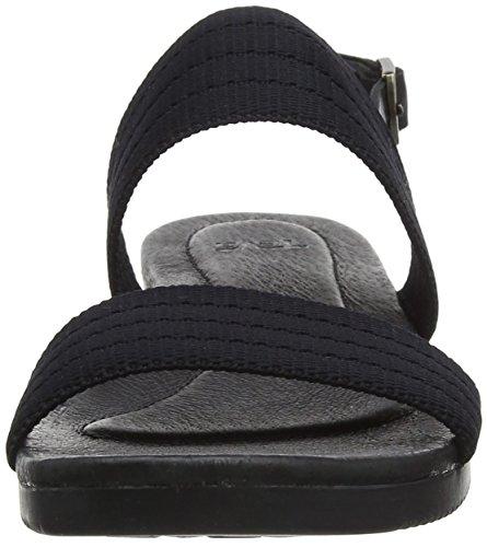 Mujer Sandalias Planas Negro Teva Black 1016129 gqt7w7