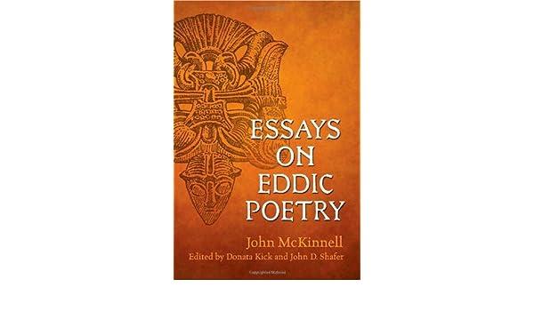 the dating of eddic poetry